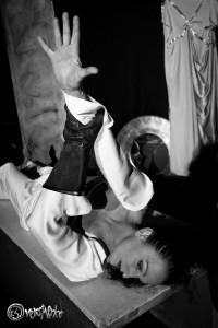 Mit Intensität und Leidenschaft gespiel: Angelika Landwehr. Foto: Anders Balari