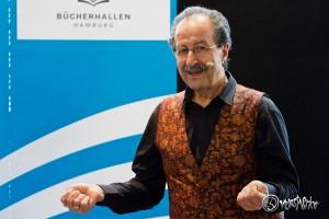 Begeistert sein Publikum: Rafik Schami. Foto: Anders Balari