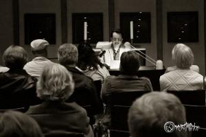 Viele interessierte Zuhörer beim Kulturkreis Ammersbek. Foto: Anders Balari. Foto: Anders Balari