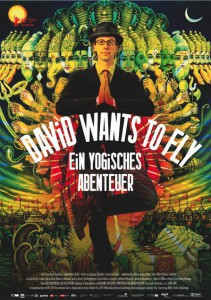 """David Wants to Fly"" mit Land­kar­te am Ran­de, so neben­bei"