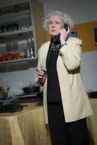 """Nach drei Jahren Pause wieder im Spielplan des Hoftheaters: Claudia Isbarn in """"Meine tolle Scheidung"""""""