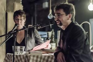 """Jo Kramer und Nina George bei der Buchpremiere von """"Commissaire Mazan und die Erben des Marquis"""