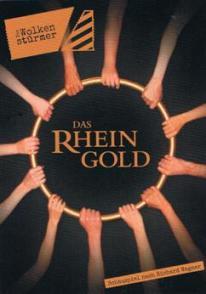 """""""Das Rheingold"""" im Sprechwerk Hamburg – ein goldenes Stück Richard Wagner als eindringliches und musikloses Bühnenstück"""