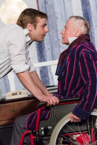 Der Vater-Sohn-Konflikt mit David (Marc Felske) eskaliert. Foto: Anders Balari