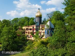 Hundertwasser im Grugapark: Das Ronald McDonald Haus