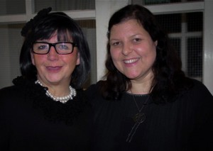 v. l. Emina Kamber und Laila Mahfouz (Foto: Günther von der Kammer)
