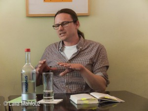 Tobias Sommer über seinen Roman, der jede digitale Technik bewusst ausblendet.