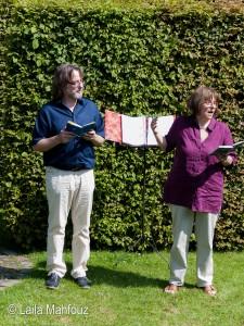 Literaturperformance: Vera Rosenbusch und Dr. Lutz Flörke