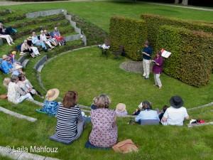 Verzaubert im Heckentheater des Schlossparks Tremsbüttel