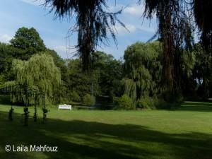 Ein englischer Landschaftspark