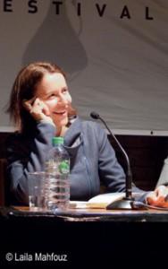 Harbour Front Literaturfestival Lesung von Alina Bronsky und Rezension zu »Baba Dunjas letzte Liebe«