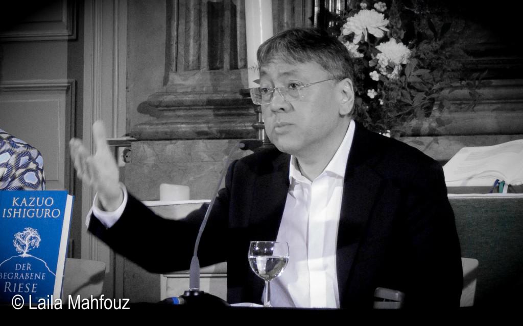 Kazuo Ishiguro präsentiert »Der begrabene Riese«.