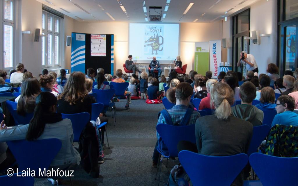 Viele Kinder lauschten der Lesung in der Zentralbibliothek der Bücherhallen Hamburg.