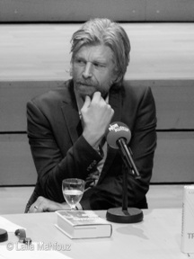 Lesung: Karl Ove Knausgård las im Liebermann-Studio aus seinem neuen Buch »Träumen«, dem 5. Band seiner aufsehenerregenden Autobiographie