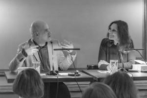Frank Witzel und Maike Albath lassen die Vergangenheit wieder aufleben. (Foto: Anders Balari)