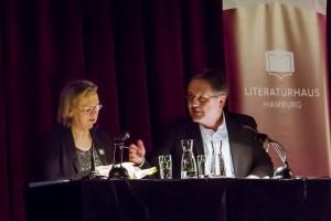 Elke Heidenreich und Rainer Moritz (Foto: Laila Mahfouz)