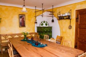 Der gemütliche Frühstücksraum (Foto: Anders Balari)