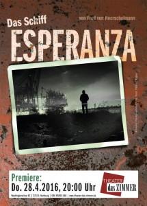 """Plakat """"Das Schiff Esperanza"""""""