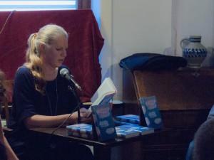 Isabel Bogdan las ihre Erzählung »Laufen« (Foto: Laila Mahfouz)