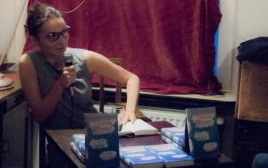 Katrin Seddig las aus ihrer Erzählung »Halber Fisch« (Foto: Laila Mahfouz)
