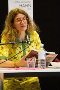Anna Katharina Hahn liest aus »Das Kleid meiner Mutter« (Foto: Anders Balari)
