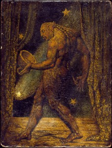 »The Ghost of a Flea« - 1819-20 by William Blake (1757-1827) - Tate Gallery