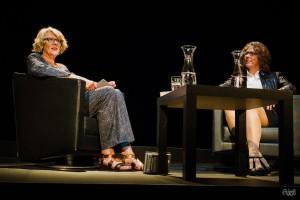 Nina George im Gespräch mit Regula Venske (Foto: Anders Balari)