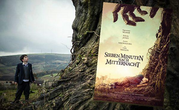 Rezension zu Juan Antonio Bayonas Film »Sieben Minuten nach Mitternacht« / »A Monster Calls« nach Patrick Ness' gleichnamigem Roman