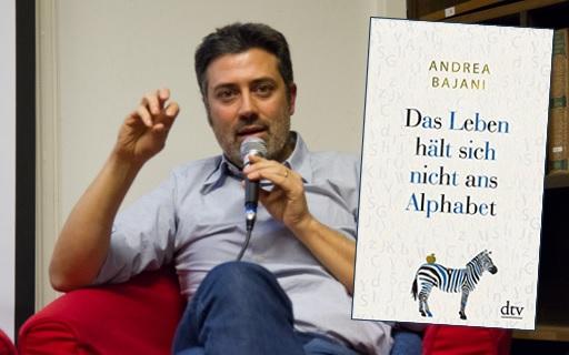 Lesung und Rezension zu Andrea Bajanis Buch »Das Leben hält sich nicht ans Alphabet« / »La vita non è in ordine alfabetico«