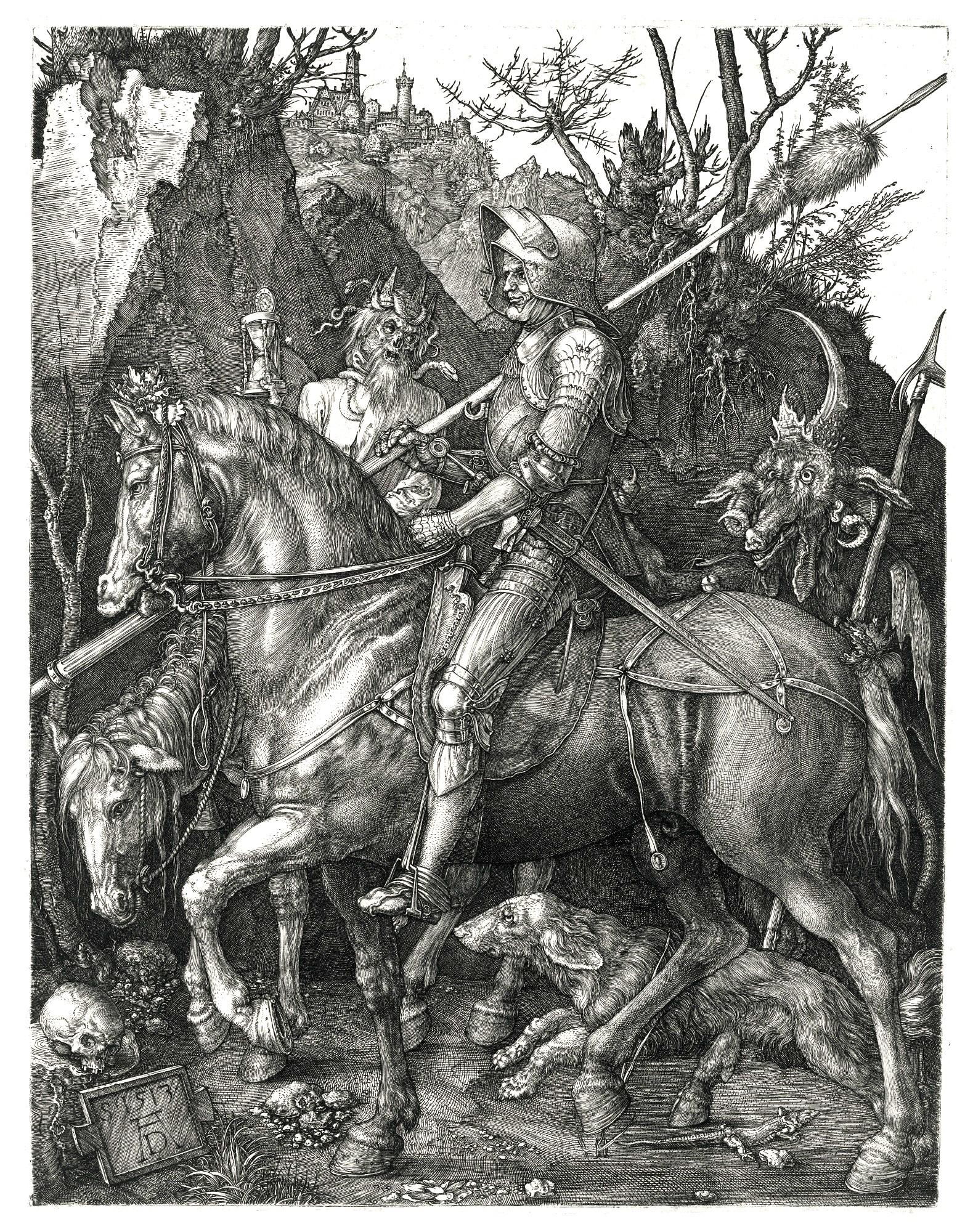 Albrecht Dürer Ritter, Tod und Teufel