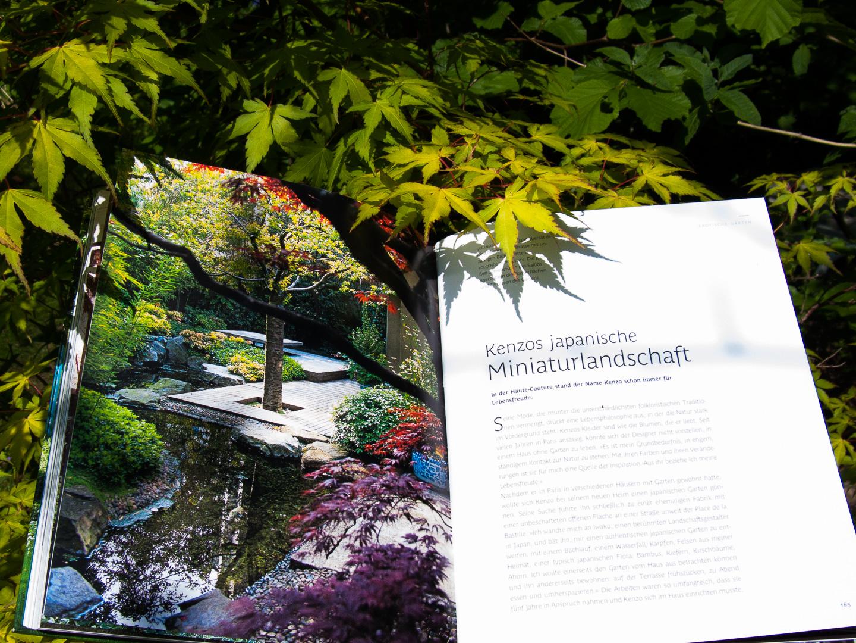 Exotische Gärten: Kenzos japanische Miniaturlandschaft - Seite 165-169
