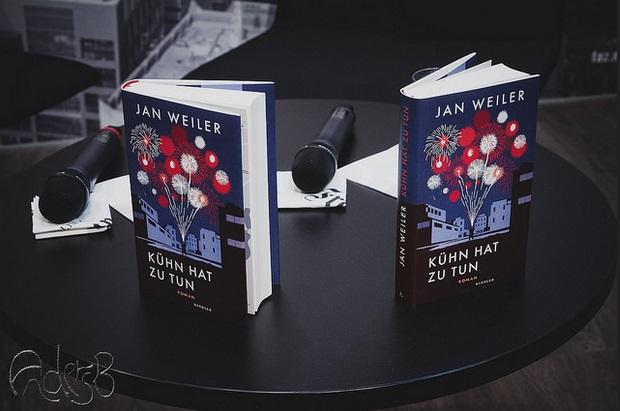 Jan Weiler Kühn hat zu tun Leipziger Buchmesse März 2015 Foto: Anders Balari