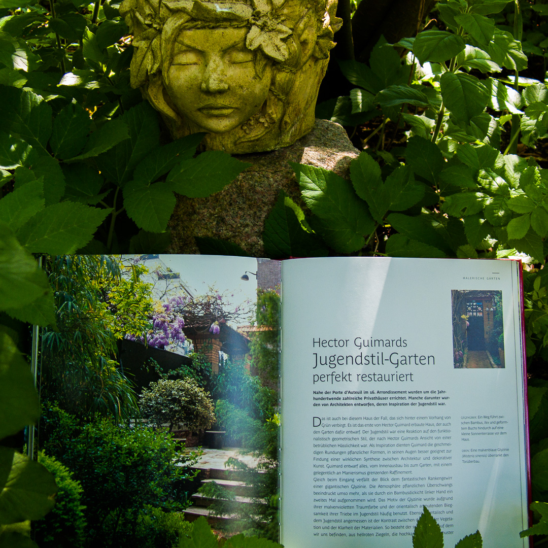Malerische Gärten: Hector Guimards Jugendstil-Garten perfekt restauriert - Seite 136-141