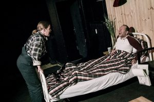 Spannung pur in Horns Theater Das Zimmer mit Stephen Kings Psychothriller »Misery«