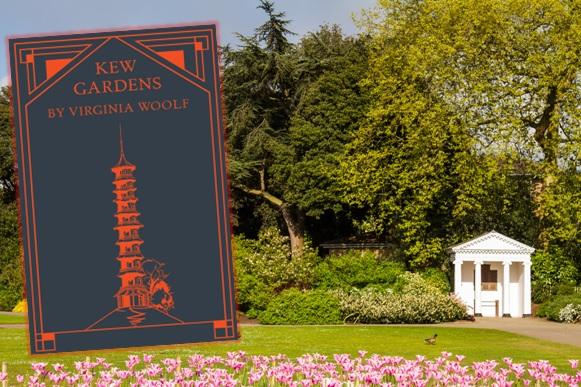 Frühlingsverzauberung in Londons Kew Gardens und Rezension zu Virginia Woolfs Erzählung »Kew Gardens«