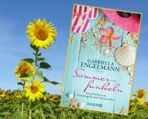 Buchverlosung und Rezension der Anthologie »Sommerfunkeln – Geschichten in Sonnengelb und Meeresblau« – herausgegeben von Gabriella Engelmann