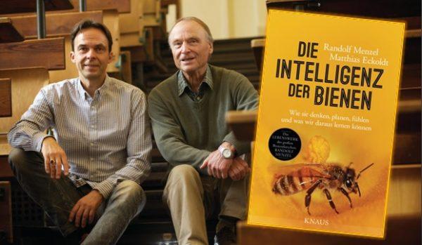 Lesung, Interview und Rezension zu Randolf Menzels und Matthias Eckoldts Sachbuch »Die Intelligenz der Bienen: Wie sie denken, planen, fühlen und was wir daraus lernen können«