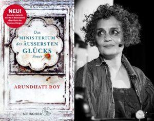 Lesung und Rezension zu Arundhati Roys langerwartetem zweiten Roman »Das Ministerium des äußersten Glücks« / »The Ministry of Utmost Happiness«