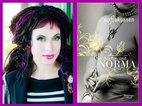 Lesung und Rezension zu Sofi Oksanens Roman »Die Sache mit Norma« / »Norma«