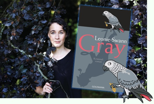 Lesung und Rezension zu Leonie Swanns tierischem Kriminalroman »Gray«
