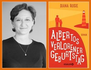 Rezension zu Diana Rosies Roman »Albertos verlorener Geburtstag« / »Alberto's Lost Birthday«