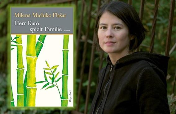 Lesung und Rezension zu Milena Michiko Flašars Roman »Herr Katō spielt Familie«